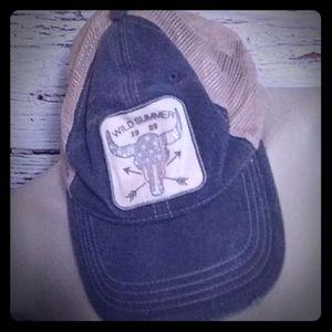 Wild summer hat